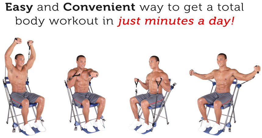Easy and Convenient way to get a total body workout in just minutes a day!
